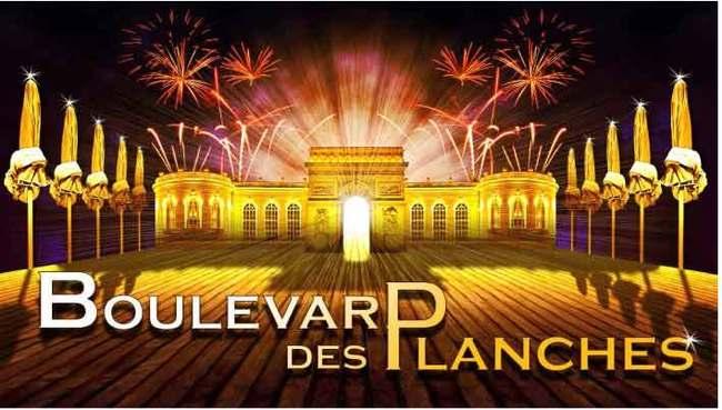 Enregistrement de l'émission TV «Boulevard des planches»